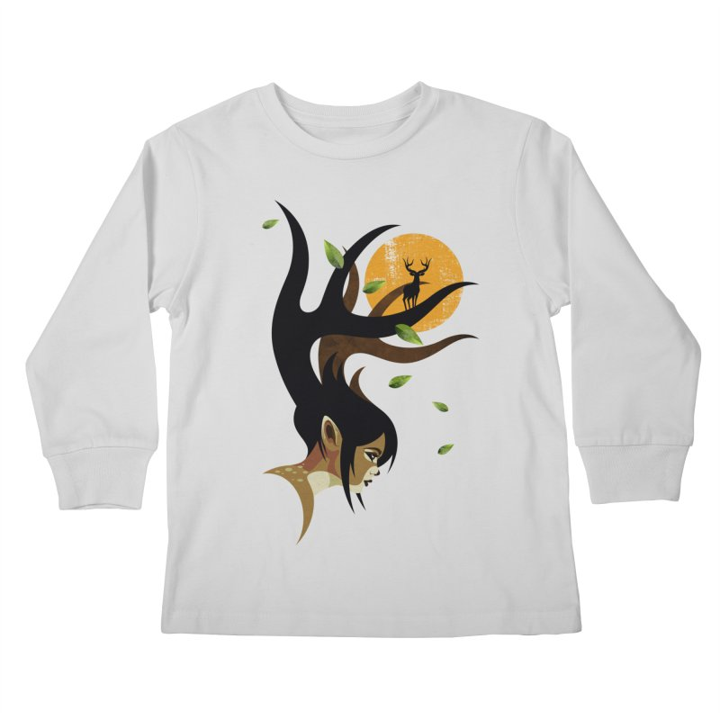 The Doe Kids Longsleeve T-Shirt by Joe Conde