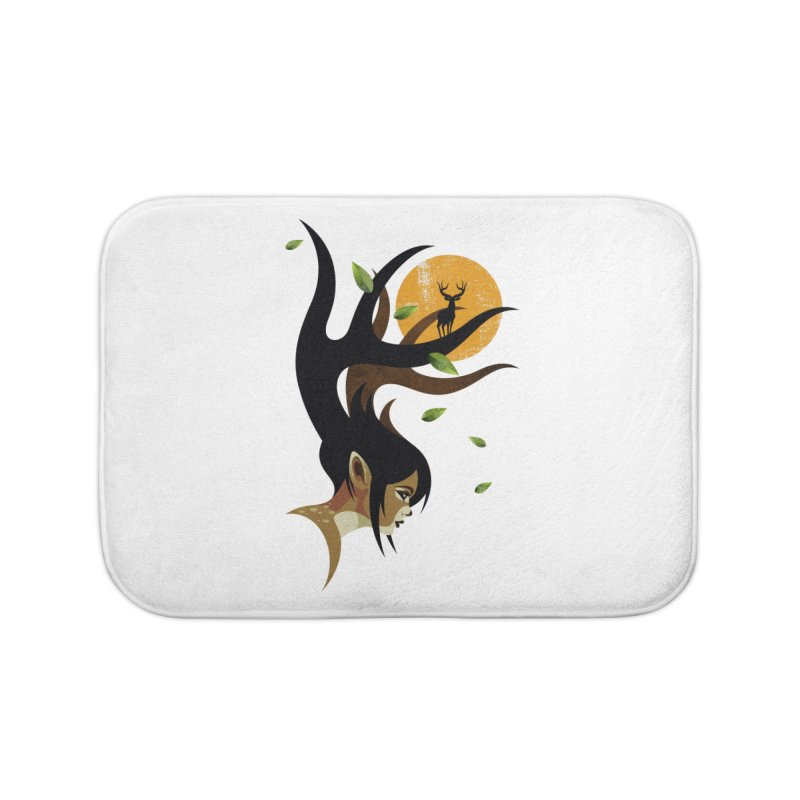 The Doe Home Bath Mat by Joe Conde
