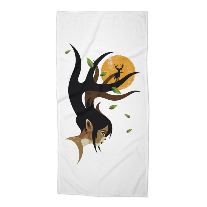 The Doe Accessories Beach Towel by Joe Conde