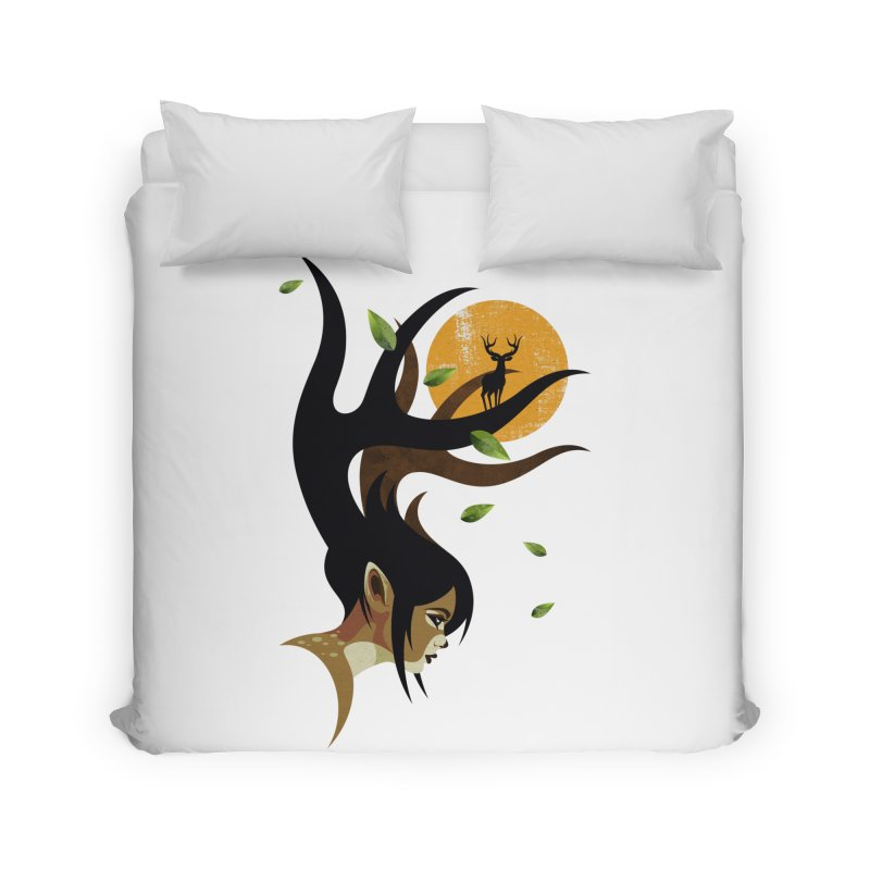 The Doe Home Duvet by Joe Conde