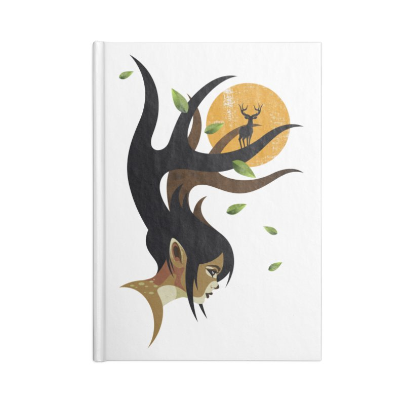 The Doe Accessories Blank Journal Notebook by Joe Conde