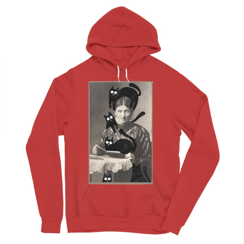 Woes of The  Cat Lady Men's Pullover Hoody by Joe Conde