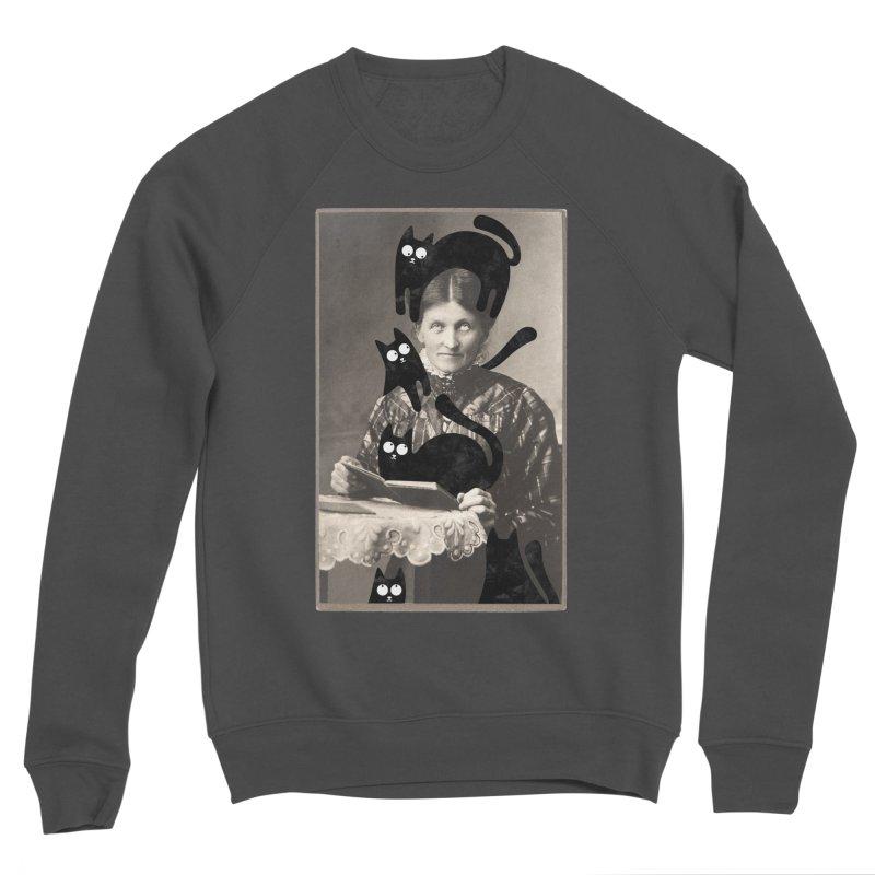 Woes of The  Cat Lady Women's Sponge Fleece Sweatshirt by Joe Conde