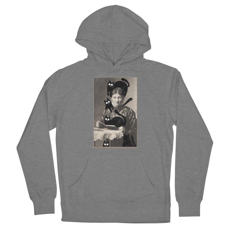 Woes of The  Cat Lady Women's Pullover Hoody by Joe Conde