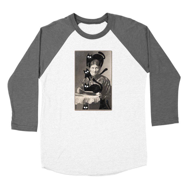 Woes of The  Cat Lady Women's Longsleeve T-Shirt by Joe Conde