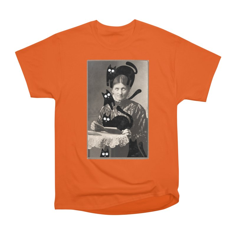 Woes of The  Cat Lady Men's T-Shirt by Joe Conde