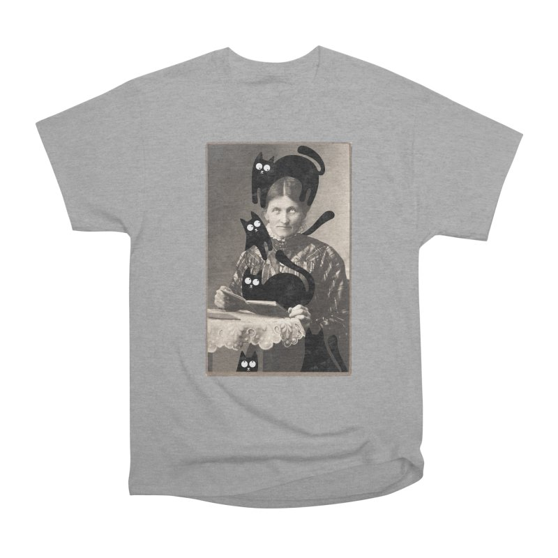 Woes of The  Cat Lady Men's Heavyweight T-Shirt by Joe Conde