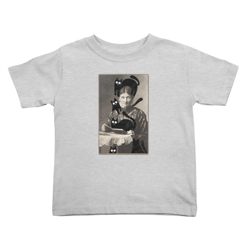Woes of The  Cat Lady Kids Toddler T-Shirt by Joe Conde