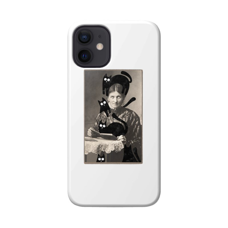Woes of The  Cat Lady Accessories Phone Case by Joe Conde