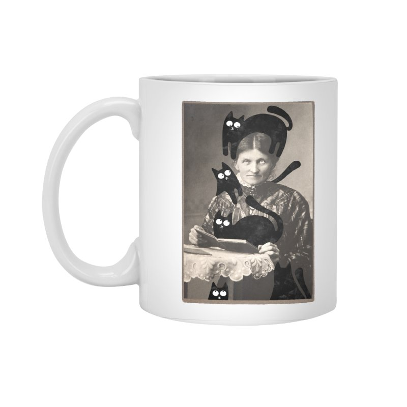 Woes of The  Cat Lady Accessories Mug by Joe Conde