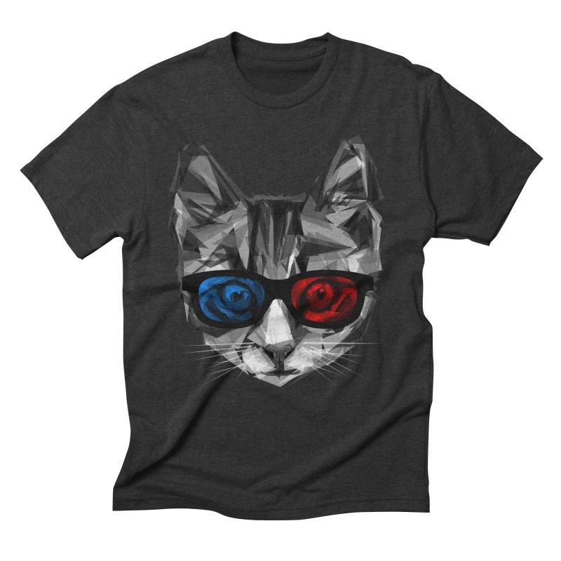 3D Specs Men's Triblend T-Shirt by Joe Conde