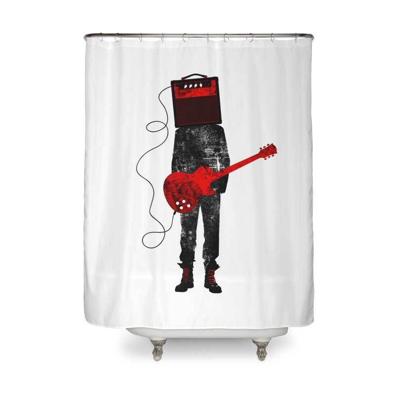 Amplified Home Shower Curtain by Joe Conde