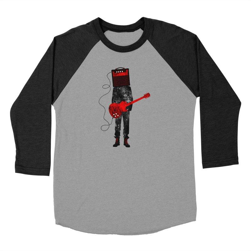 Amplified Women's Baseball Triblend Longsleeve T-Shirt by Joe Conde