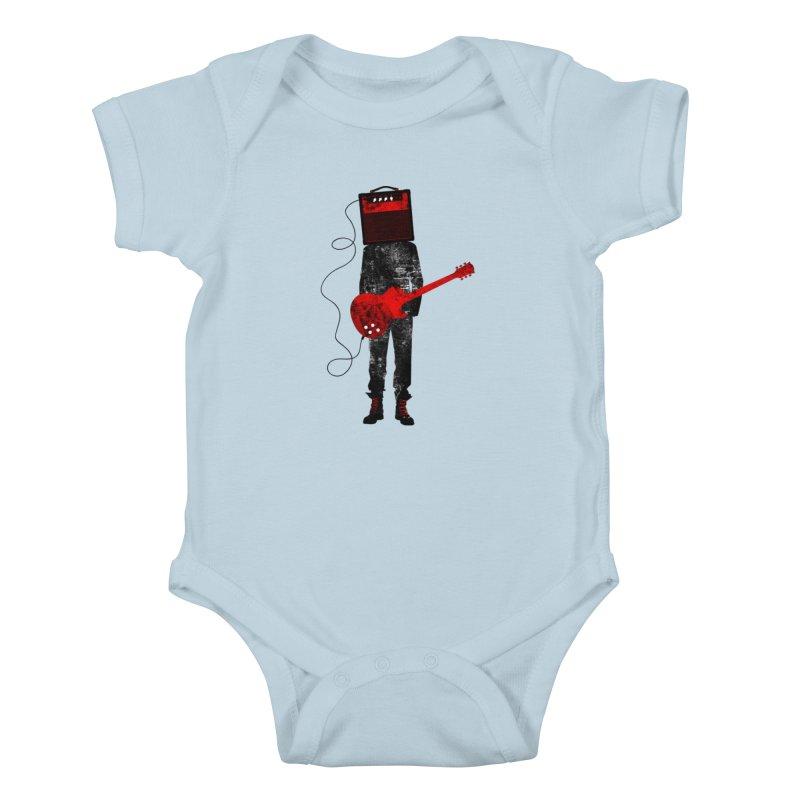 Amplified Kids Baby Bodysuit by Joe Conde