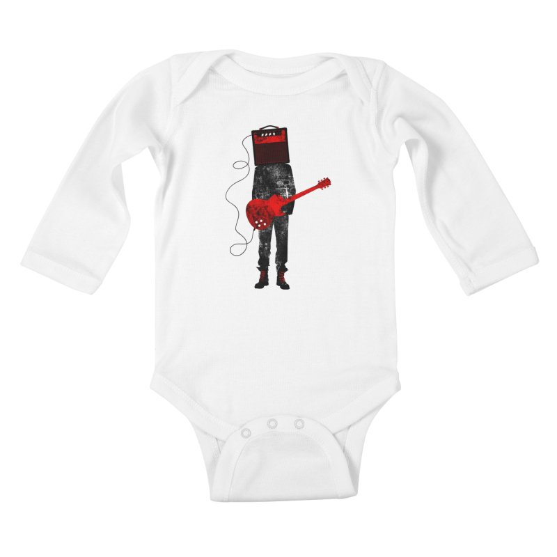 Amplified Kids Baby Longsleeve Bodysuit by Joe Conde