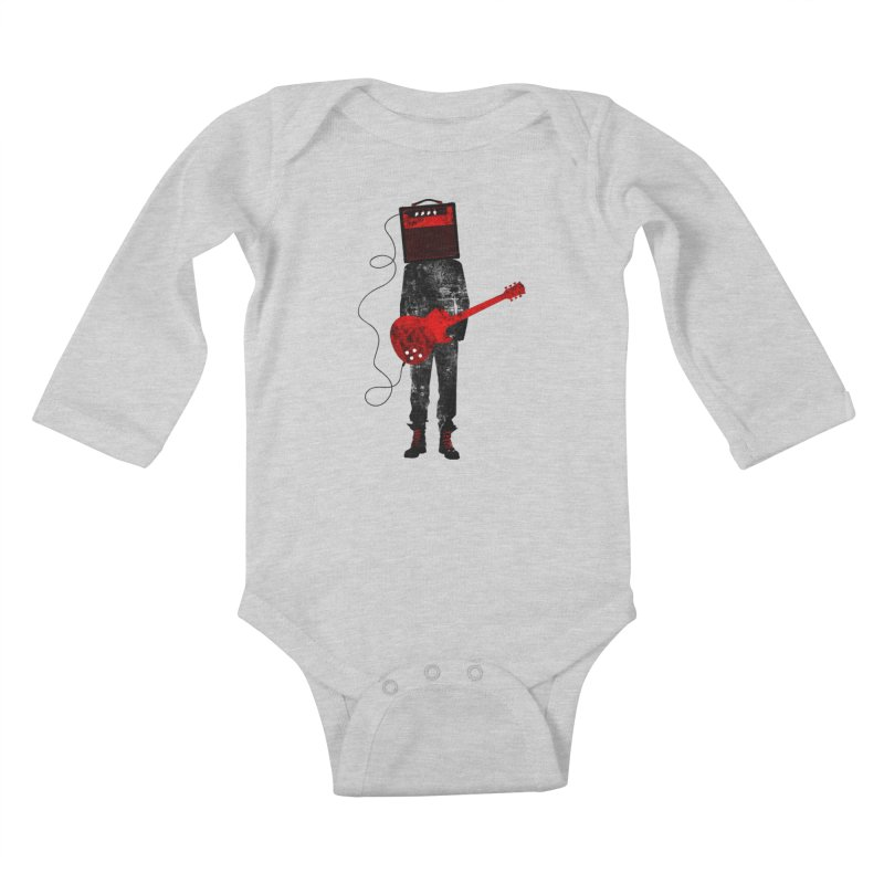 Amplified Kids Baby Longsleeve Bodysuit by Joe Conde