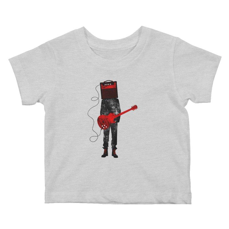 Amplified Kids Baby T-Shirt by Joe Conde