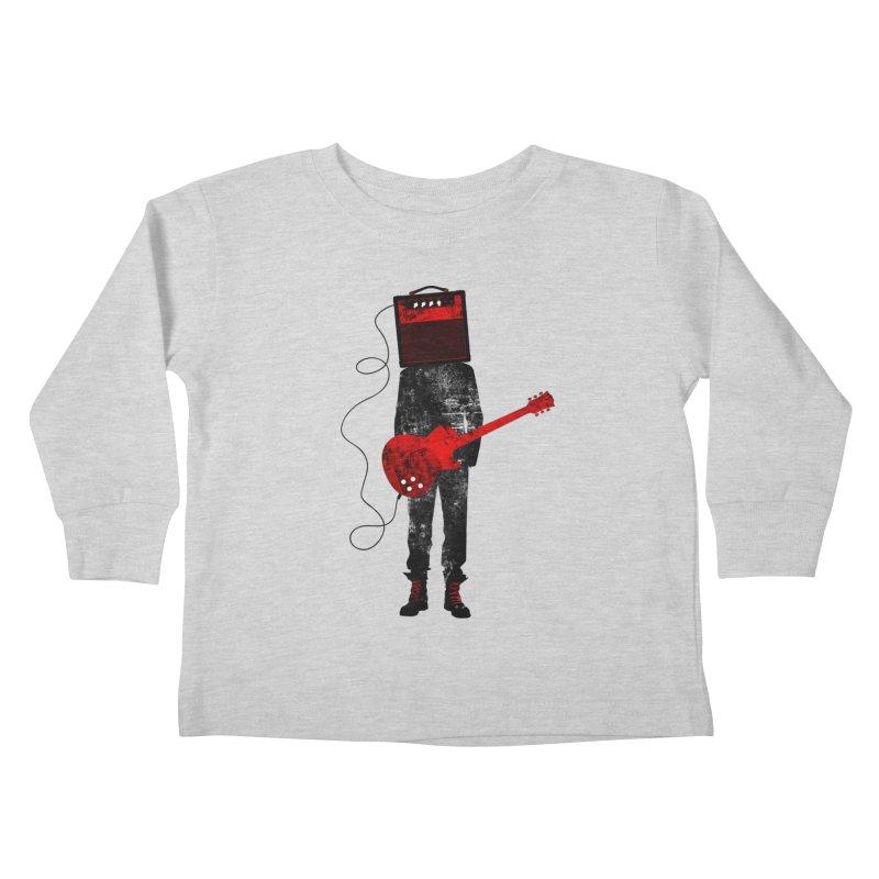 Amplified Kids Toddler Longsleeve T-Shirt by Joe Conde