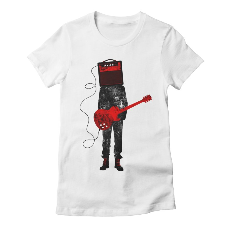 Amplified Women's Fitted T-Shirt by Joe Conde