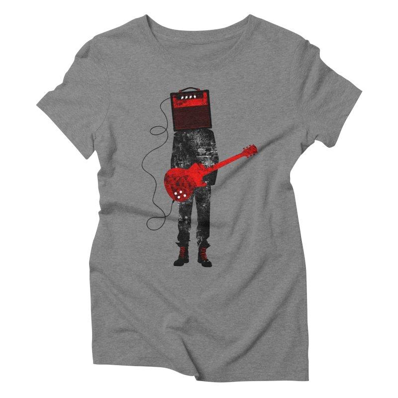Amplified Women's Triblend T-Shirt by Joe Conde