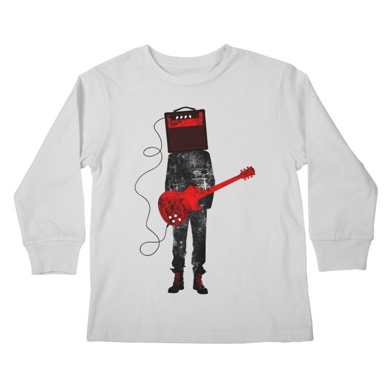 Amplified Kids Longsleeve T-Shirt by Joe Conde