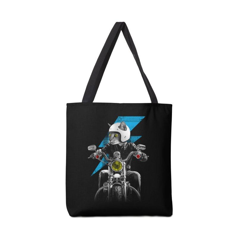 Biker Cat Accessories Bag by Joe Conde