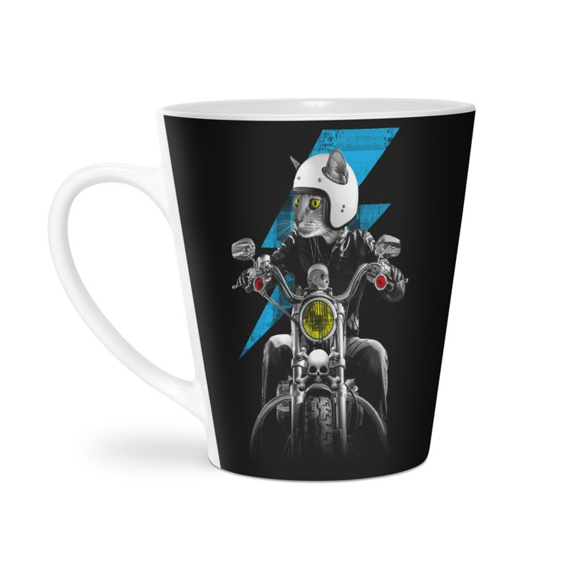 Biker Cat Accessories Mug by Joe Conde
