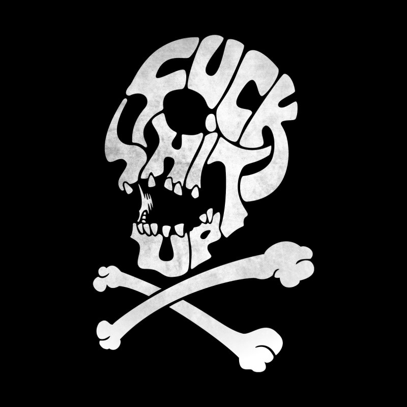 Fuck Shit Up Home Blanket by Joe Conde
