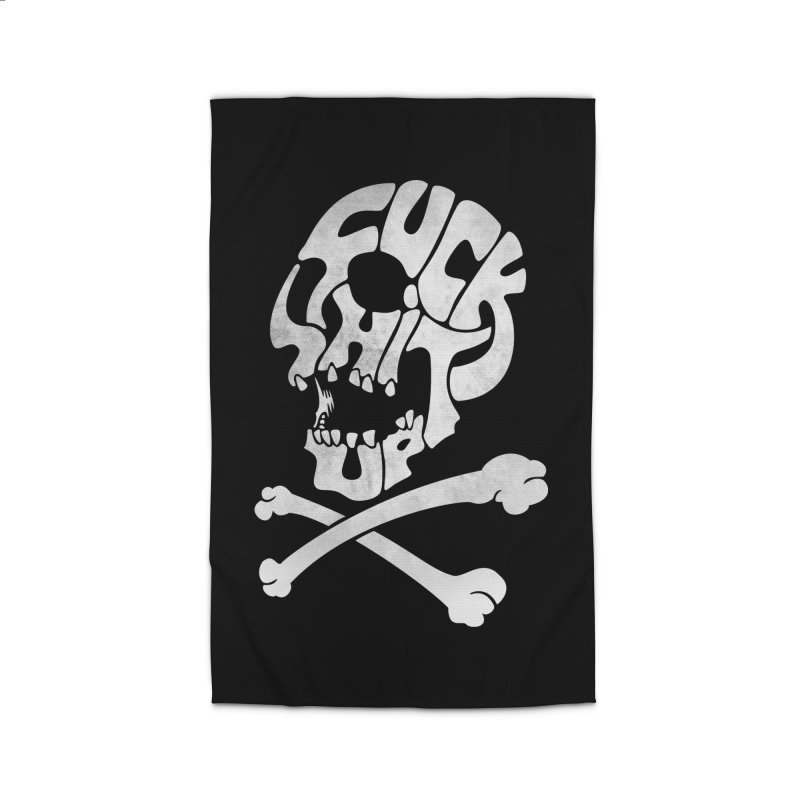 Fuck Shit Up Home Rug by Joe Conde