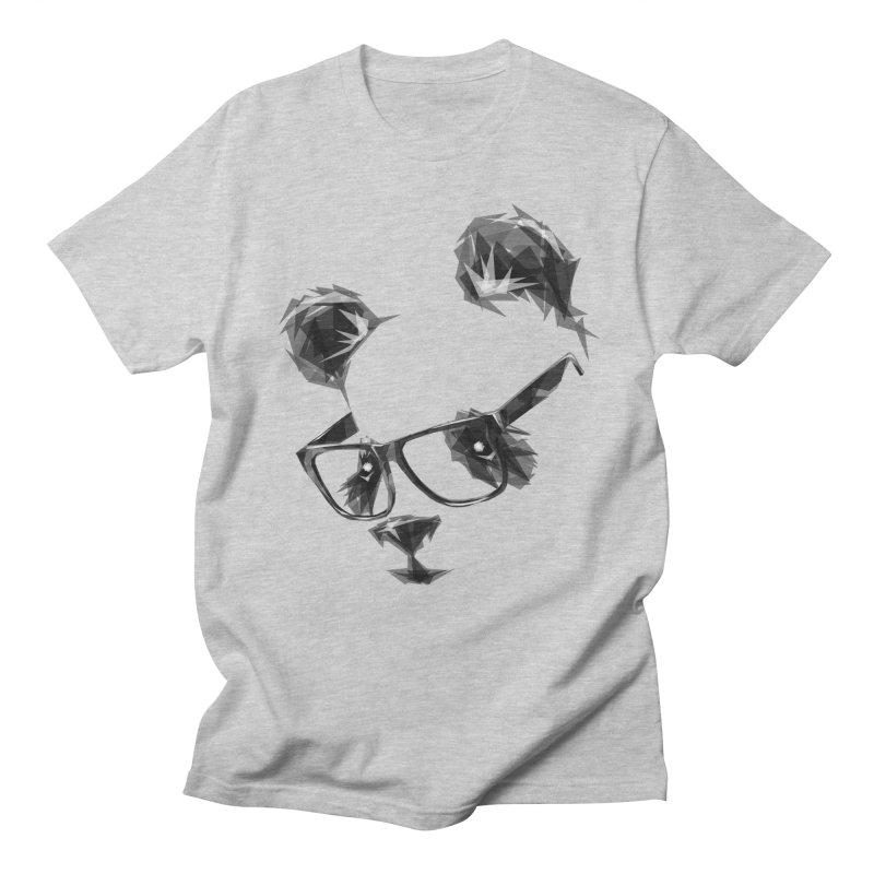 Geometric Panda Men's T-shirt by Joe Conde