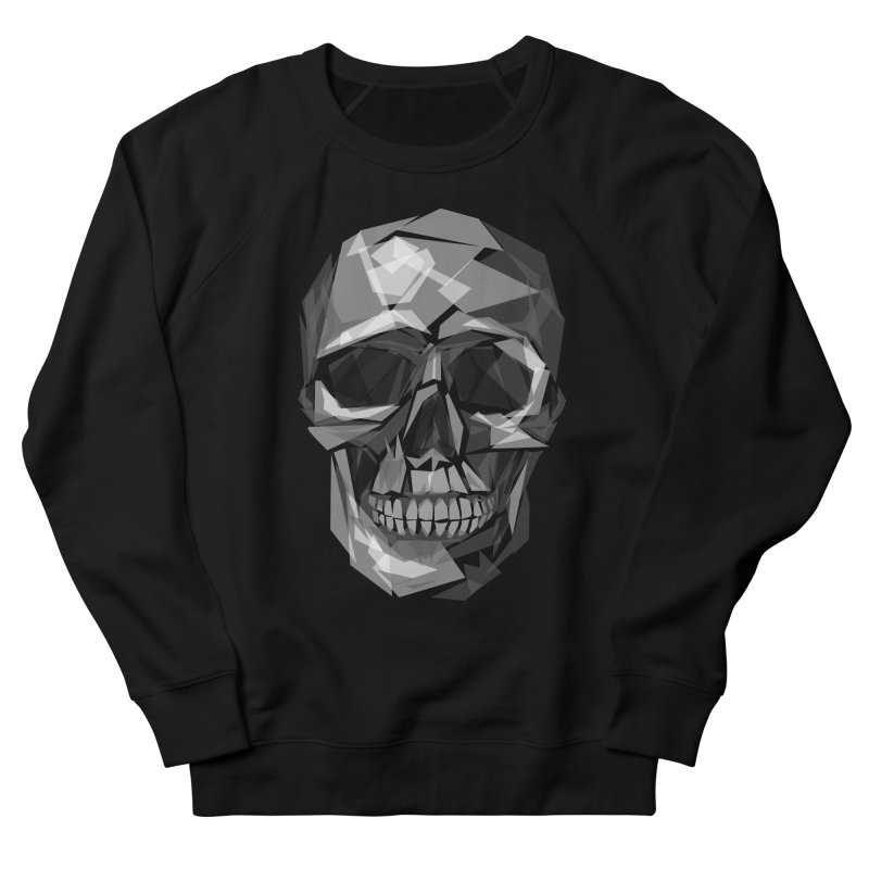 Geometric Skull Women's Sweatshirt by Joe Conde