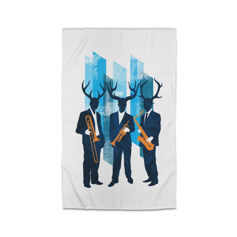 Horn Section Home Rug by Joe Conde