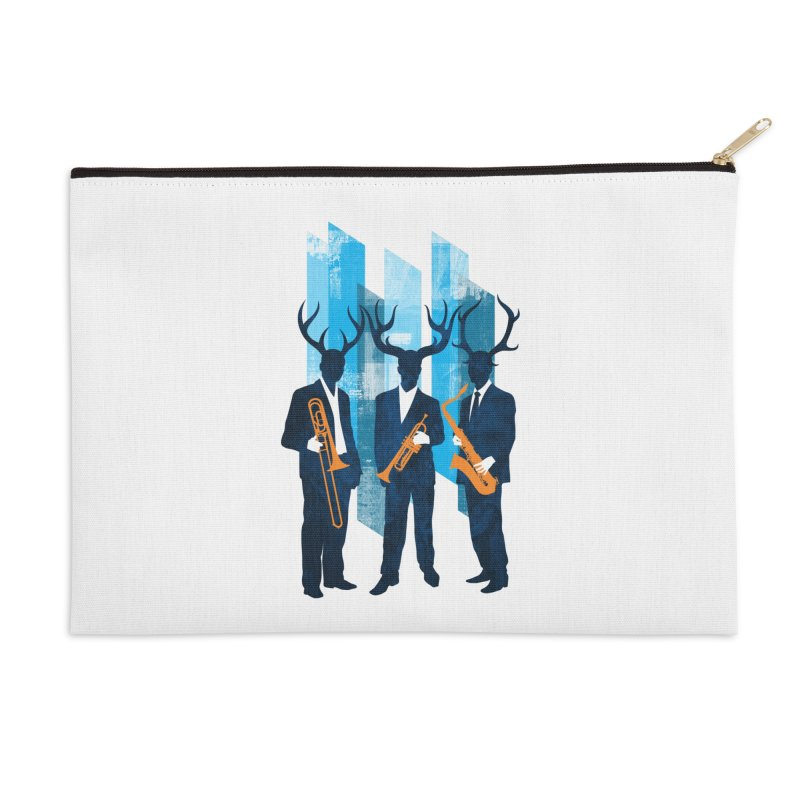 Horn Section Accessories Zip Pouch by Joe Conde