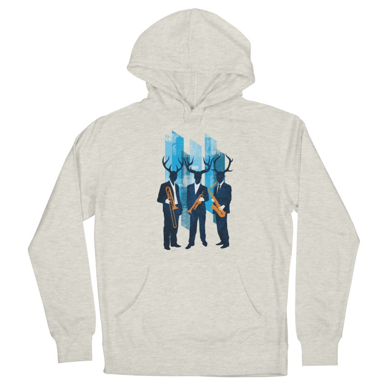 Horn Section Men's Pullover Hoody by Joe Conde