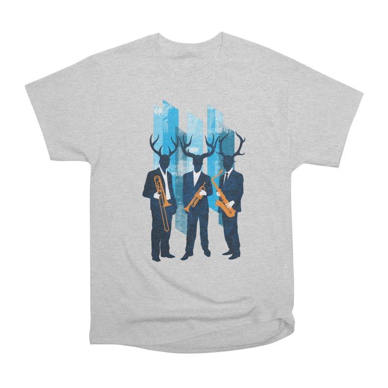 Horn Section Men's Heavyweight T-Shirt by Joe Conde