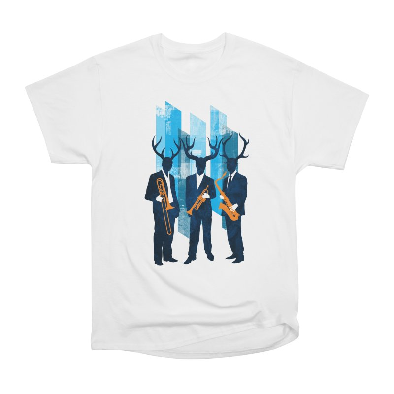 Horn Section Women's Heavyweight Unisex T-Shirt by Joe Conde