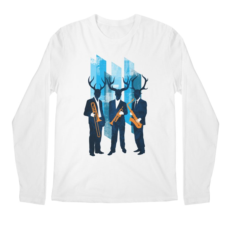 Horn Section Men's Regular Longsleeve T-Shirt by Joe Conde