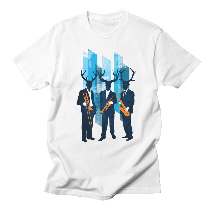 Horn Section Men's T-Shirt by Joe Conde
