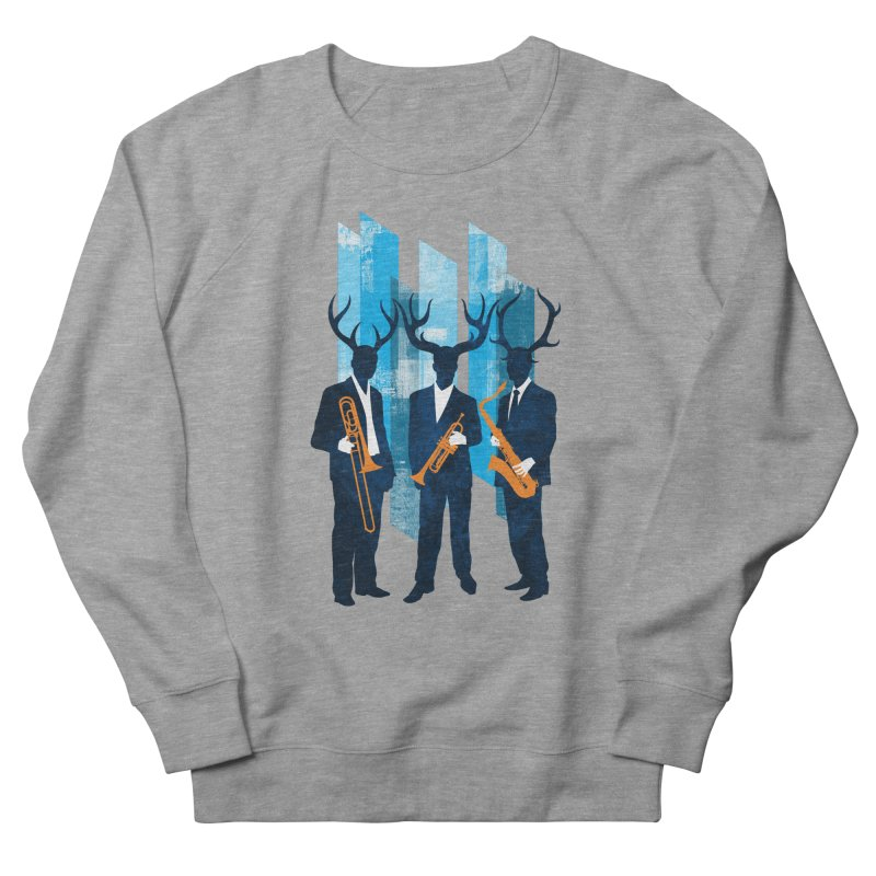 Horn Section Women's Sweatshirt by Joe Conde