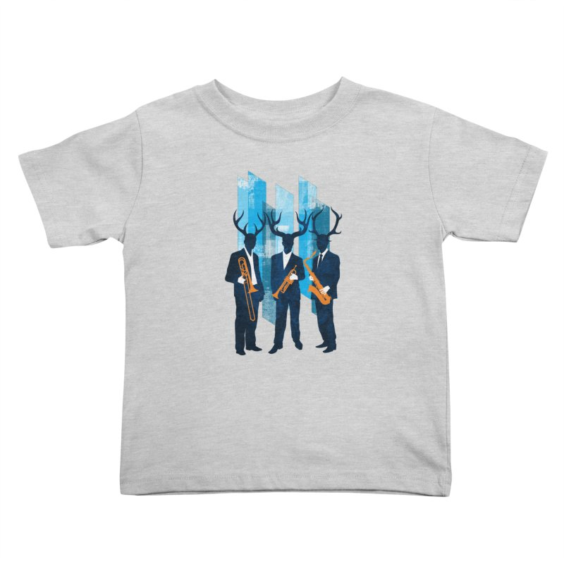 Horn Section Kids Toddler T-Shirt by Joe Conde