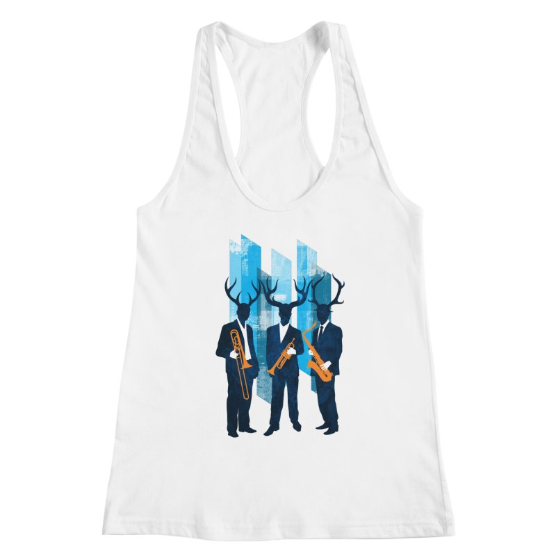 Horn Section Women's Tank by Joe Conde