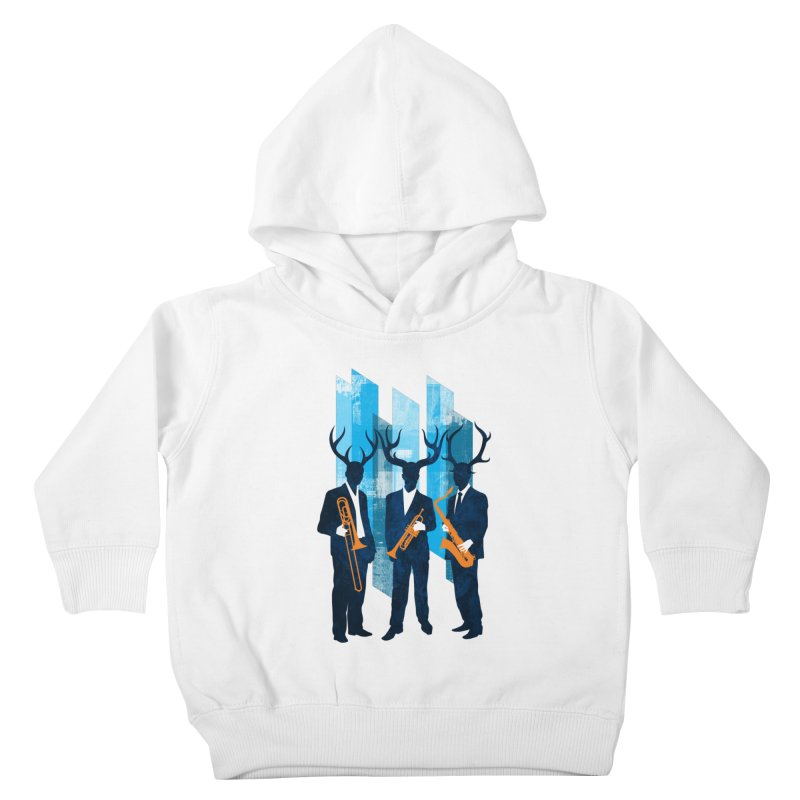 Horn Section Kids Toddler Pullover Hoody by Joe Conde