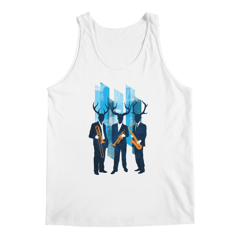 Horn Section Men's Regular Tank by Joe Conde