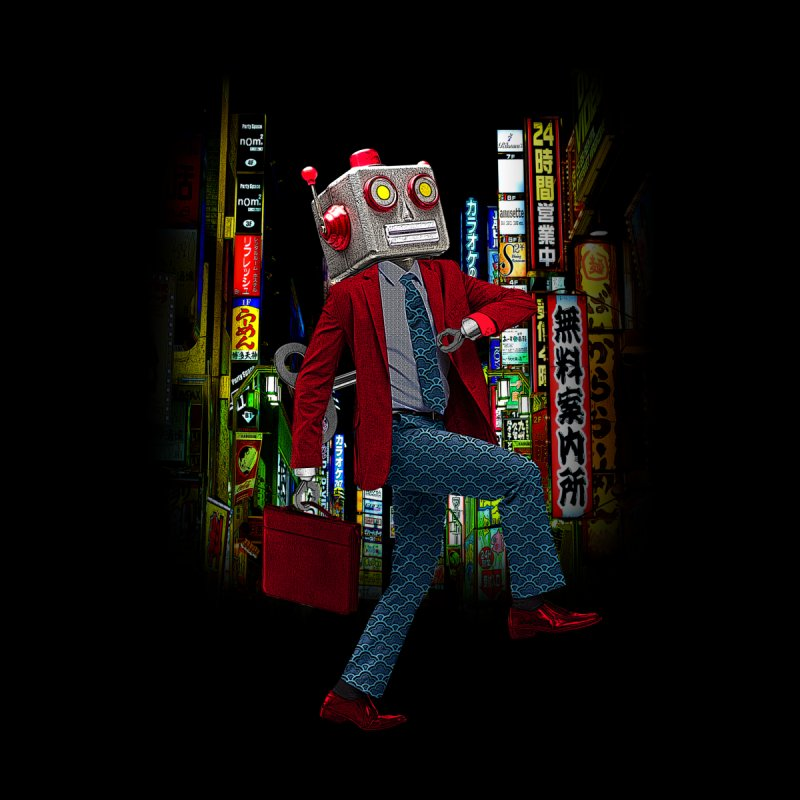 Mr. Roboto Men's Sweatshirt by Joe Conde