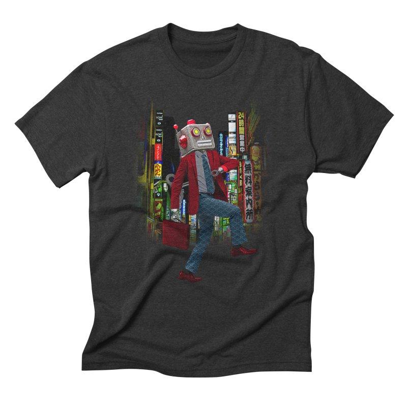 Mr. Roboto Men's Triblend T-Shirt by Joe Conde