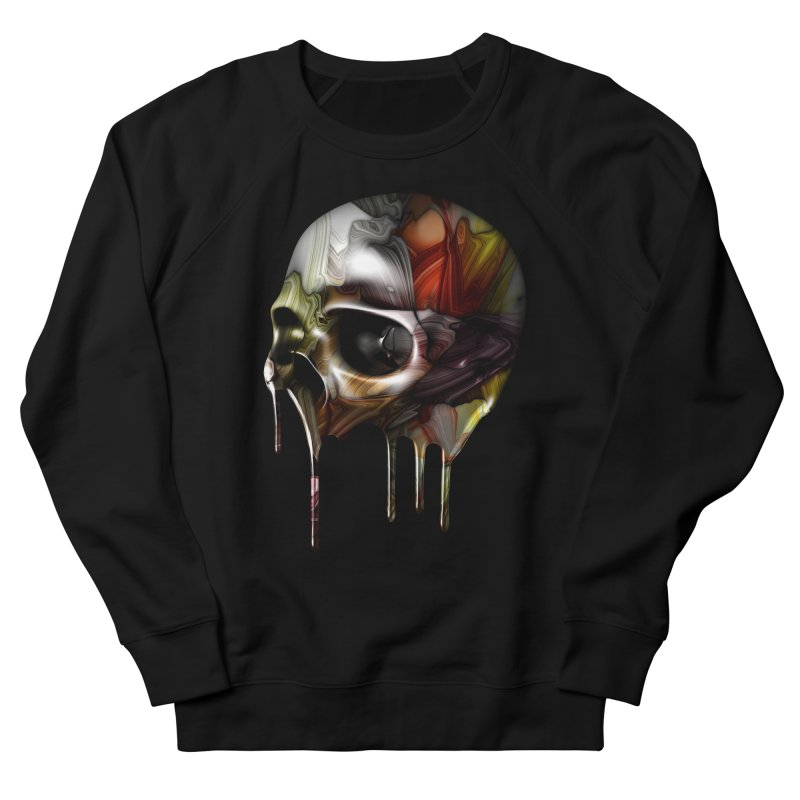 Syrupy Skull Men's Sweatshirt by Joe Conde