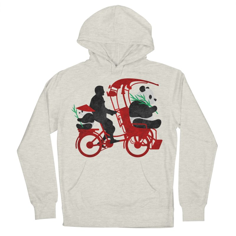 Rickshaw Pandas Men's Pullover Hoody by Joe Conde