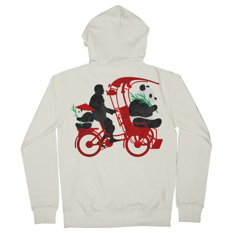 Rickshaw Pandas Women's Zip-Up Hoody by Joe Conde