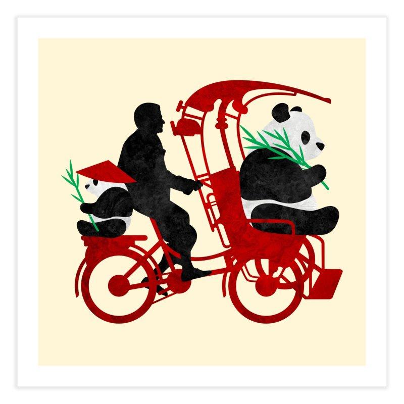 Rickshaw Pandas   by Joe Conde