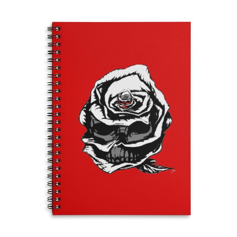 Secret Accessories Lined Spiral Notebook by joe's shop